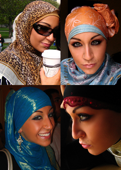 Hijab Styles And Arabic Makeup
