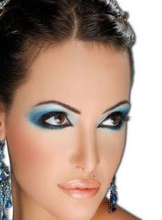 muslim women fashions arabic eye makeup