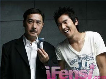 mark chao and allen chao in black and white