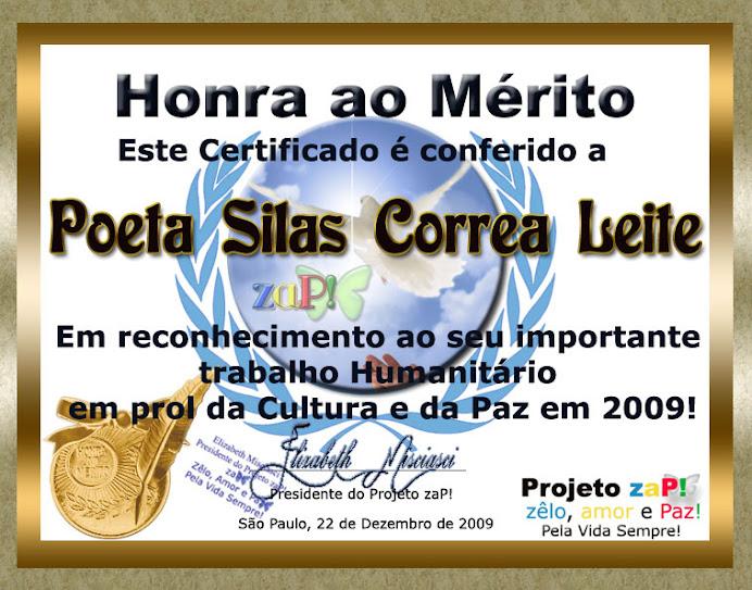 Poeta, Ficcionista e Ensaista Silas Correa Leite