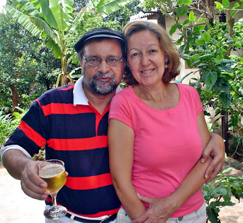 Poeta Silas Correa Leite e Musa Professora Rosangela