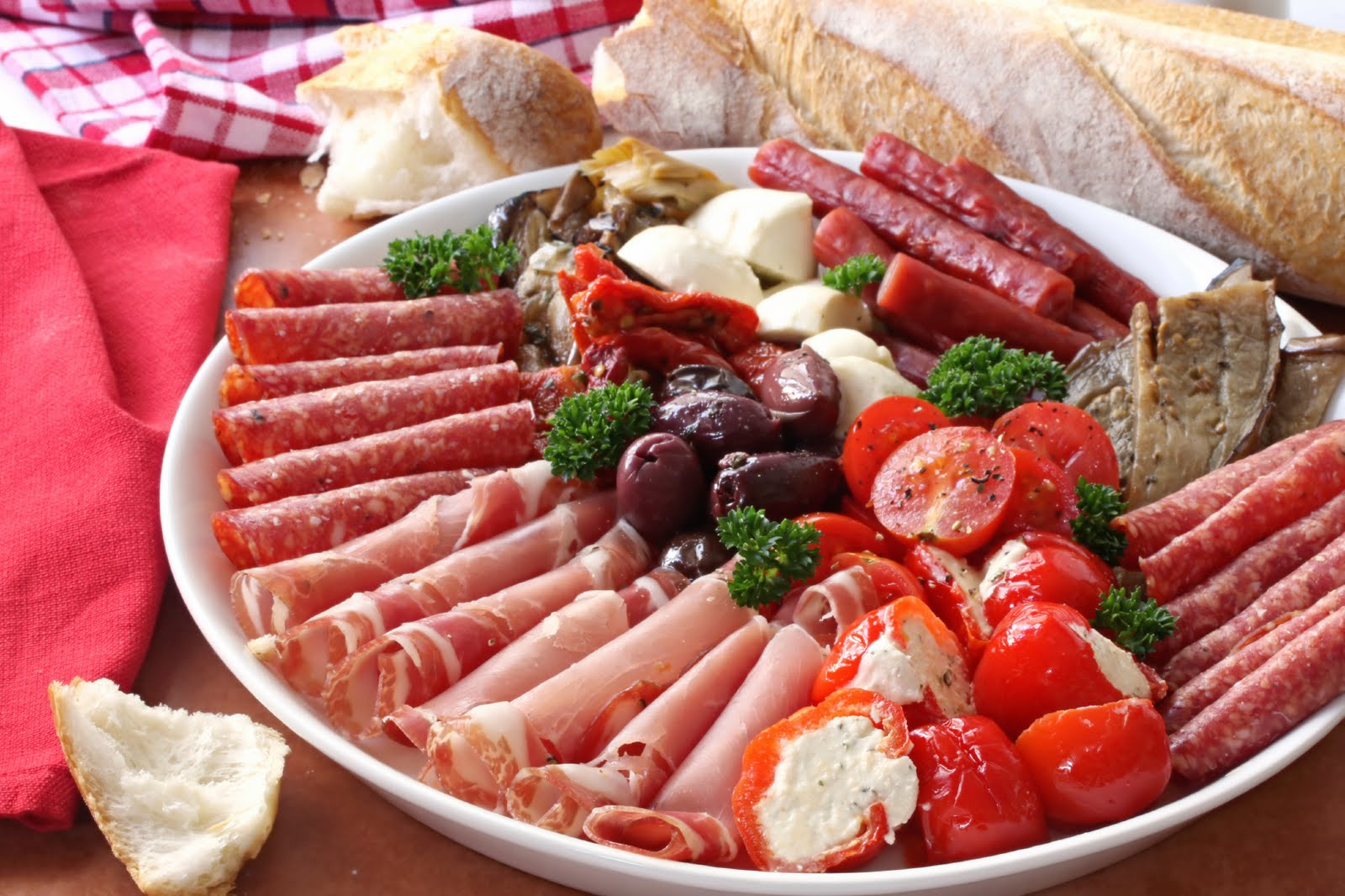 how to make a lunch meat platter