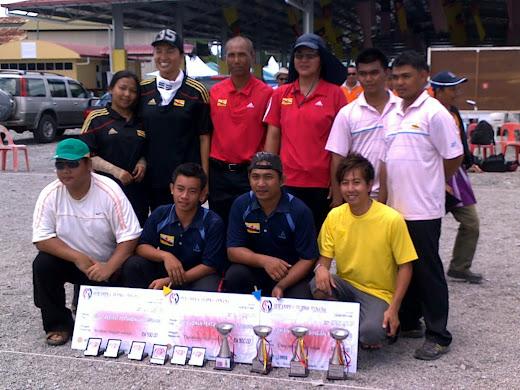 Kejohanan Petanque Jemputan di Sarikei