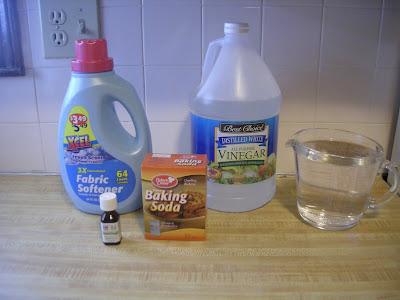 Homemade Liquid Fabric Softener