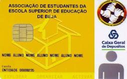 Cartão de sócio da AEESEB da CGD