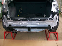VW Golf tow bar fitting