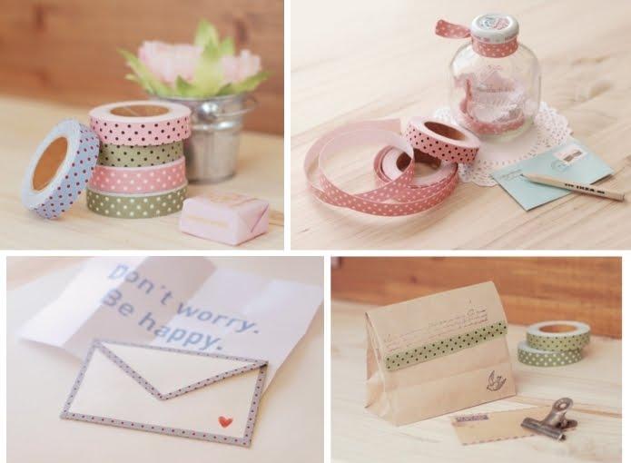 Cukimuki cintas adhesivas japonesas de tela 1 for Cinta de tela adhesiva