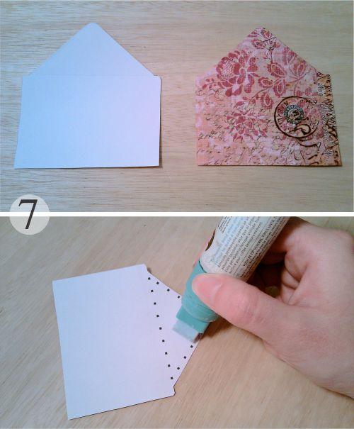 Alma de angel el diy de cukimuki - Como decorar un sobre ...