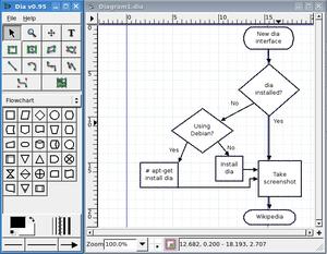 Dia Powerful Cross Platform Diagramming Software
