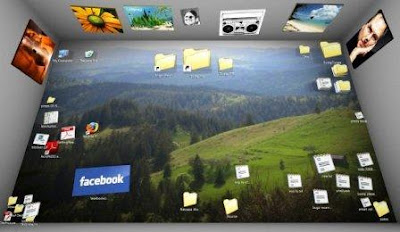 3D Desktop Organizer for Windows - BumpTop