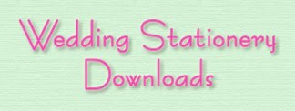 Wedding Stationery Downloads