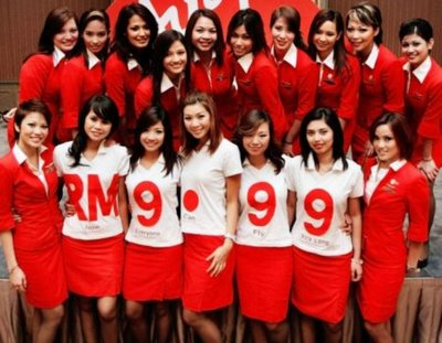 Airasia Air Hostess Air Asia Gorgious Air Hostess