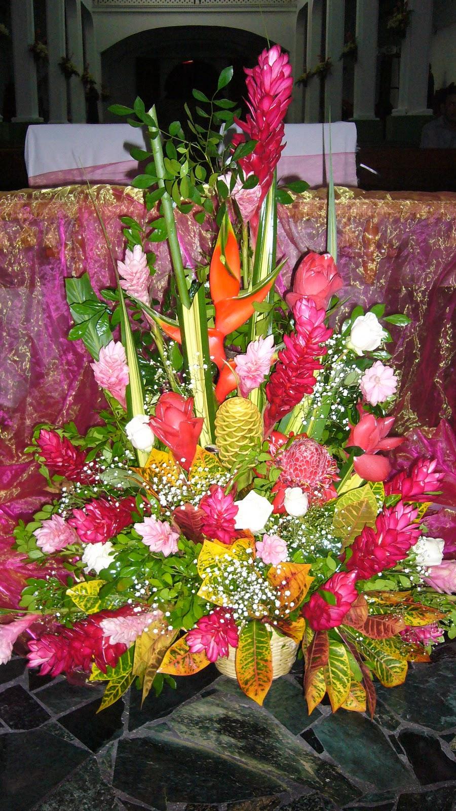 Arreglos florales con flores tropicales imagui for Vivero plantas tropicales