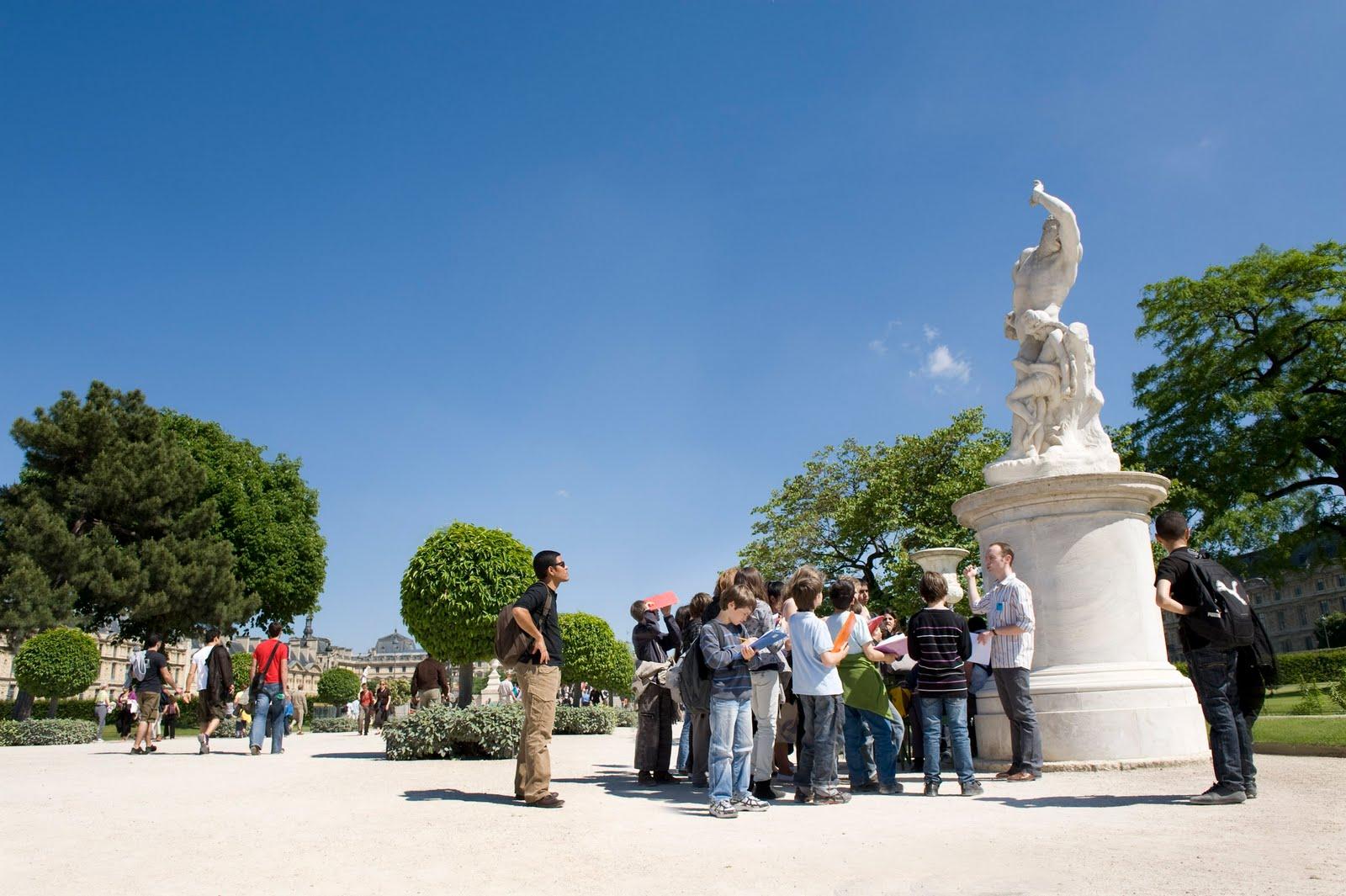 Potins enfantins ateliers au jardin des tuileries for Au jardin des tuileries