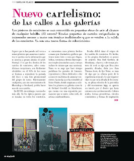 "Get a Clue Design Featured In Spanish Culture Magazine ""Calle 20//"""