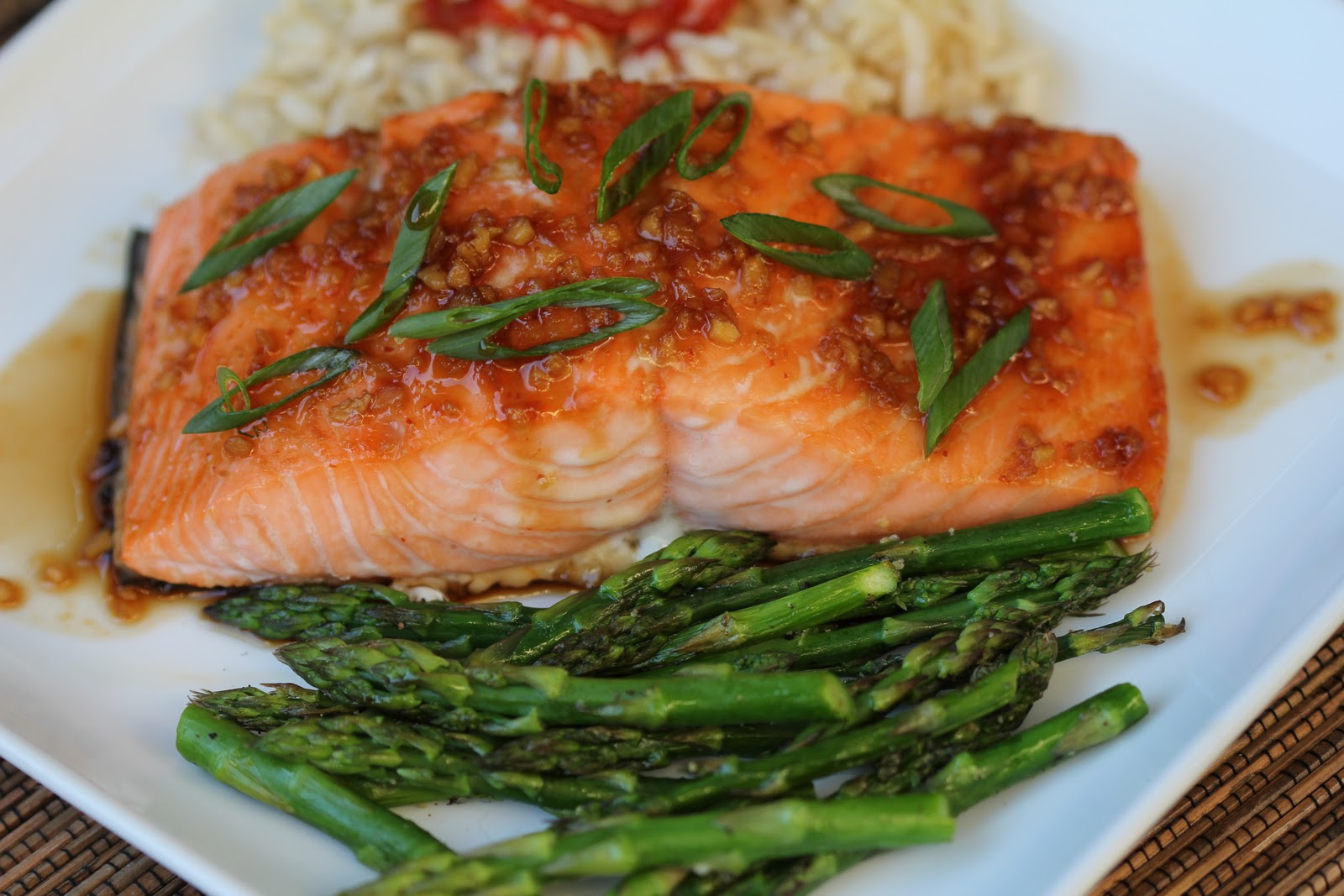 balsamic glazed salmon fillets miso ginger glazed salmon glazed salmon ...