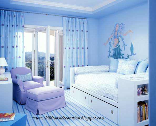 Child room decoration 2012 girl room wall - Paint colors for girl rooms ...