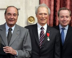 Eastwood Honored by French Legion of Honor