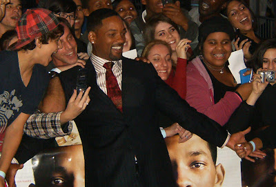 "Will Smith at the Premiere of ""Seven Pounds"""