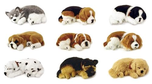 Дышащие игрушки собаки