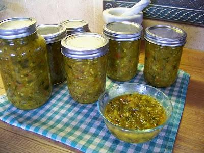 recipe relish zucchini