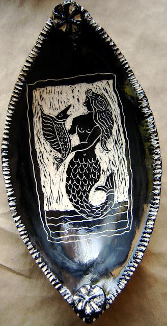 Mermaid Dish (sold)