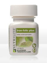 Nutrilite Iron-Folic Plus