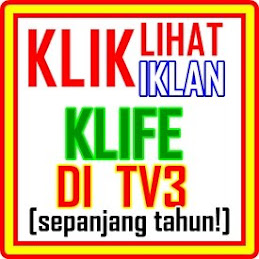 KLIK: LIhat IKLAN KLIFe di TV3