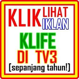 KLIK: LIhat IKLAN KLIFe di TV3