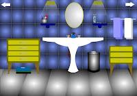 Blue Bathroom Escape Walkthrough