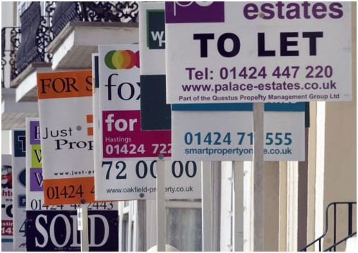 'For sale' boards are back. The Hometrack survey for June is out and reveals