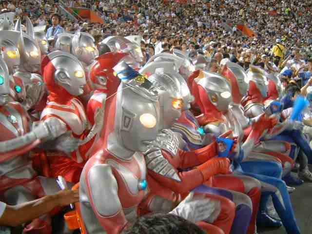 Foto Pahlawan Super Ultraman