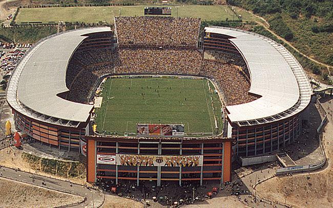 """El estadio """"Banco del Pichincha"""""""