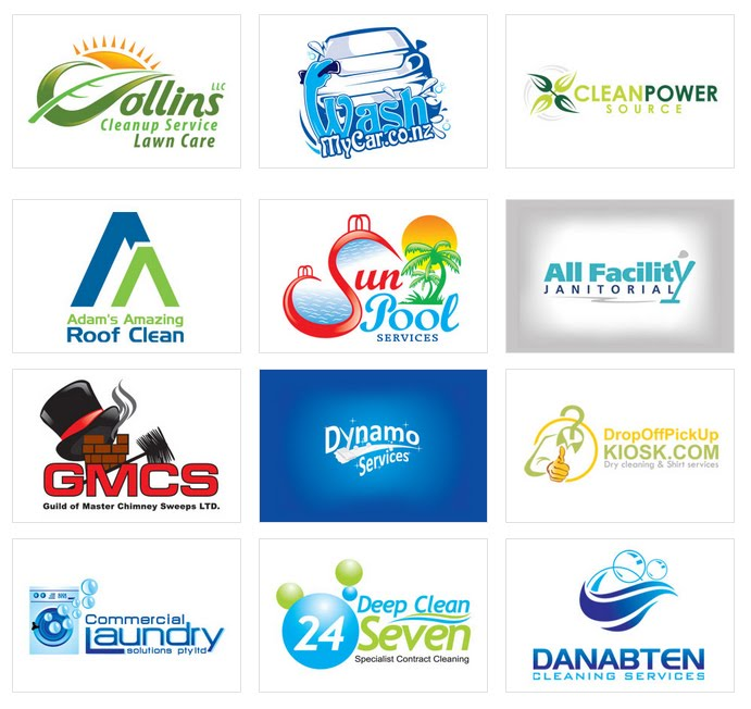 Free Cleaning Service Logo Design