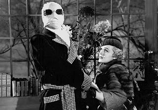 Claude Rains and Gloria Stuart in a scene from