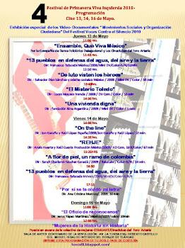 Viva la Izquierda 2010 PROGRAMA CINE