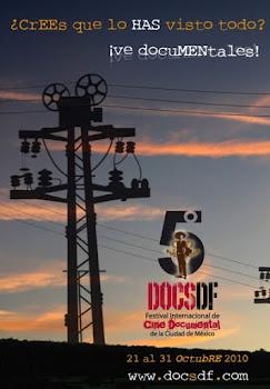 5Festival Internacional de Cine Documental de la Ciudad de México DCSDF