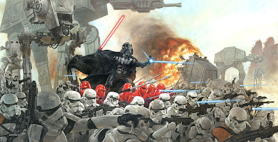 Dave Dorman - Star Wars Scene