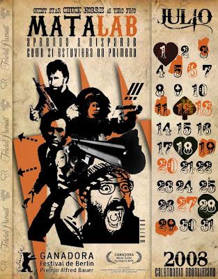 calendario julio 2008