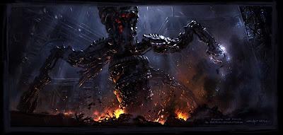 matrix robot destructor
