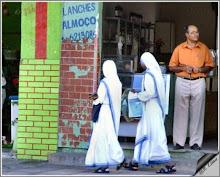 Duas monjas - twee nonnen Foto: Rui Lima, Bahia - Br