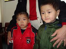 Steven Yu Fei and Samuel