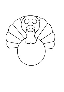 how to draw a thanksgiving turkey step by step