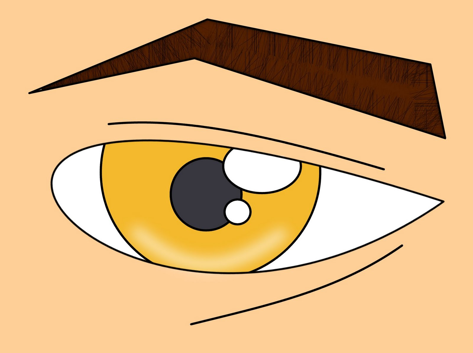 How to draw cartoons eye drawing