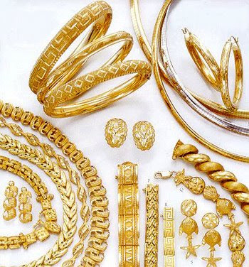 Italian gold jewellery