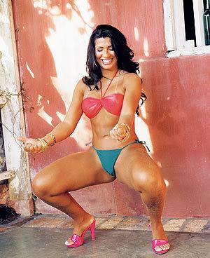 Mulher Morango fotos sensuais e vídeo