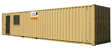 8x40 Office & Portable Storage Container Combo