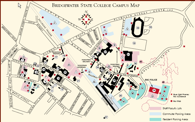 Geography at Bridgewater: Updating the Campus Map