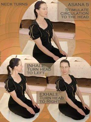 surya kriya neck turns