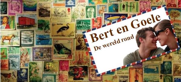 Bert en Goele de wereld rond